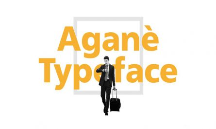 Agane Font Family Free Download