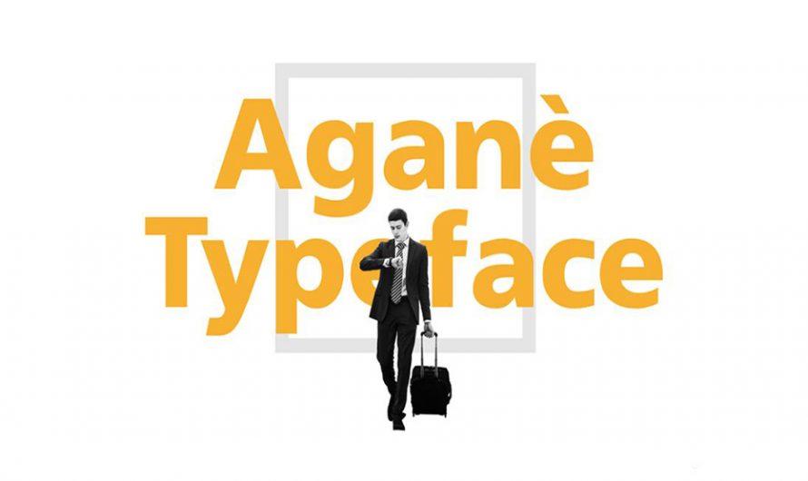 Agane Font Free Download