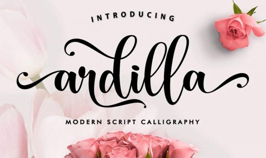 Ardilla Font Free Download