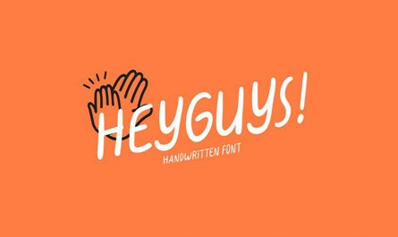 Heyguys Font Family Free Download