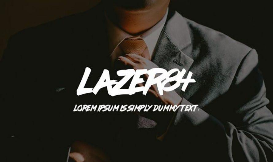 Lazer 84 Font Free Download