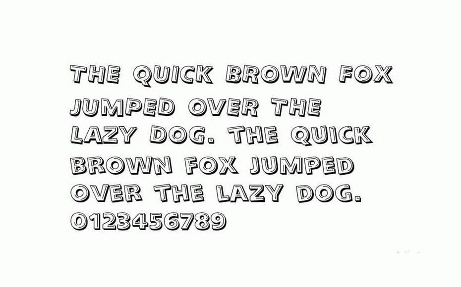Looney Tunes Font Family Download