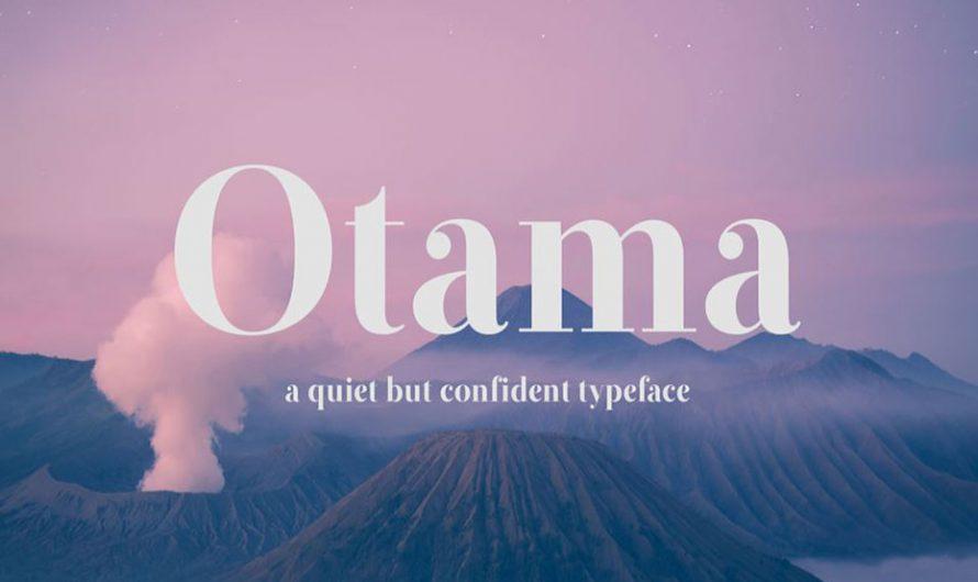 Otama Font Free Download