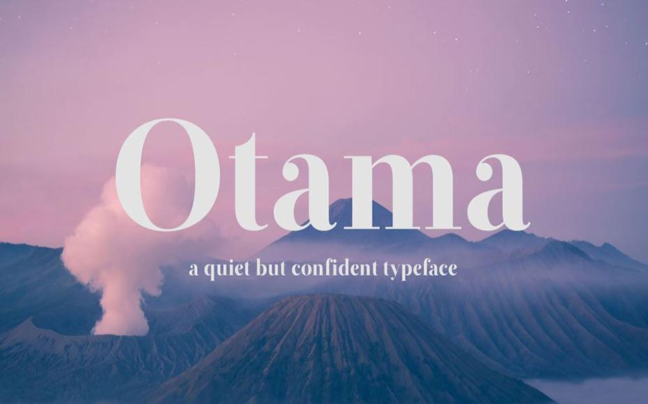 Otama Font Family Free Download