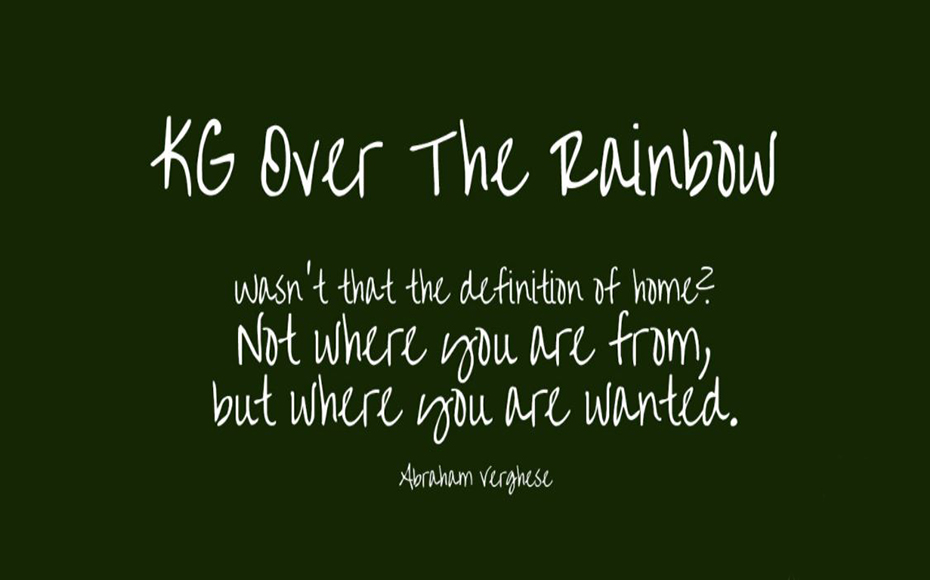 Over The Rainbow Font Free Download