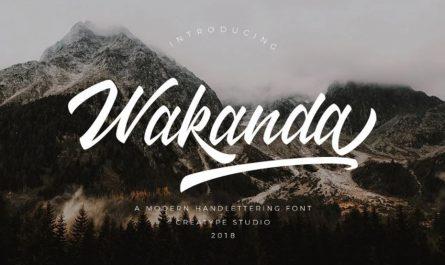 Wakanda Font Family Free Download