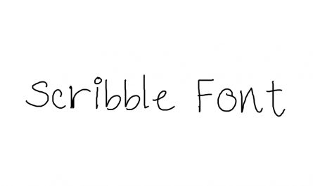 Scribble Font Family Free Download