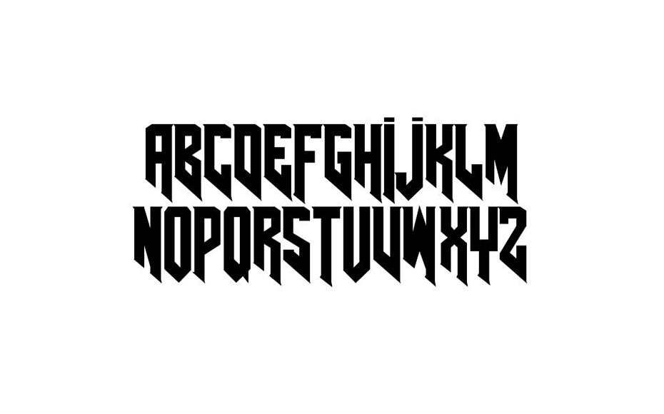AmazDooM Font Family Download