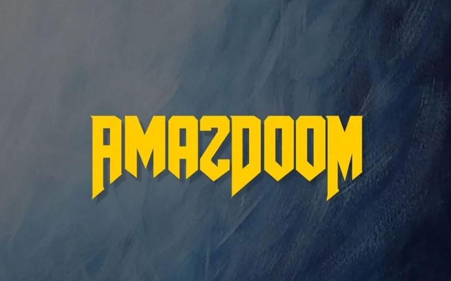 AmazDooM Font Family Free Download