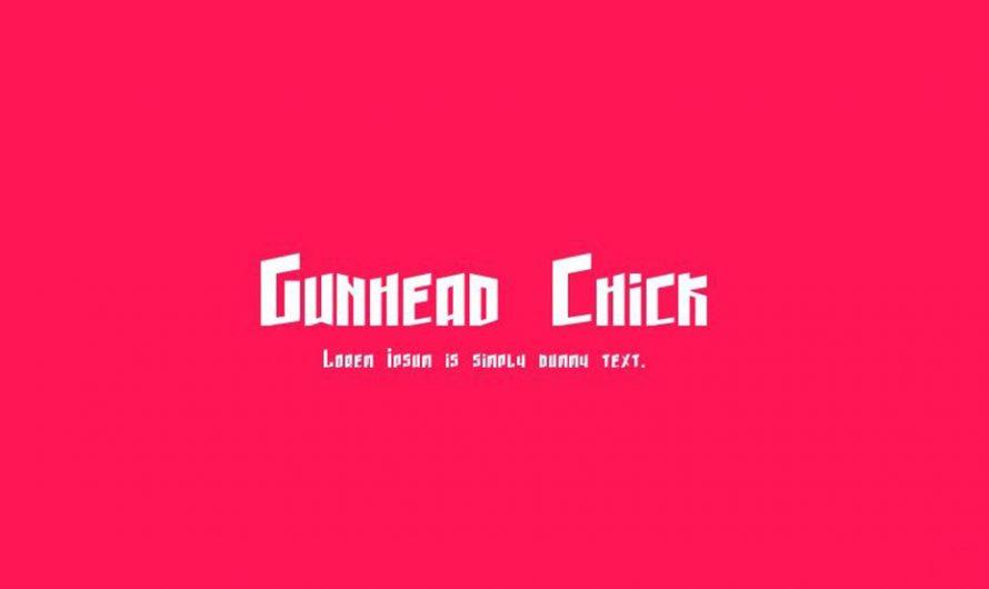 Gunhead Chick Font Free Download