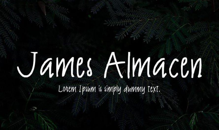 James Almacen Font Free Download
