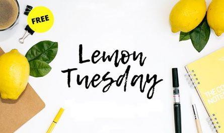 Lemon Tuesday Font Family Free Download