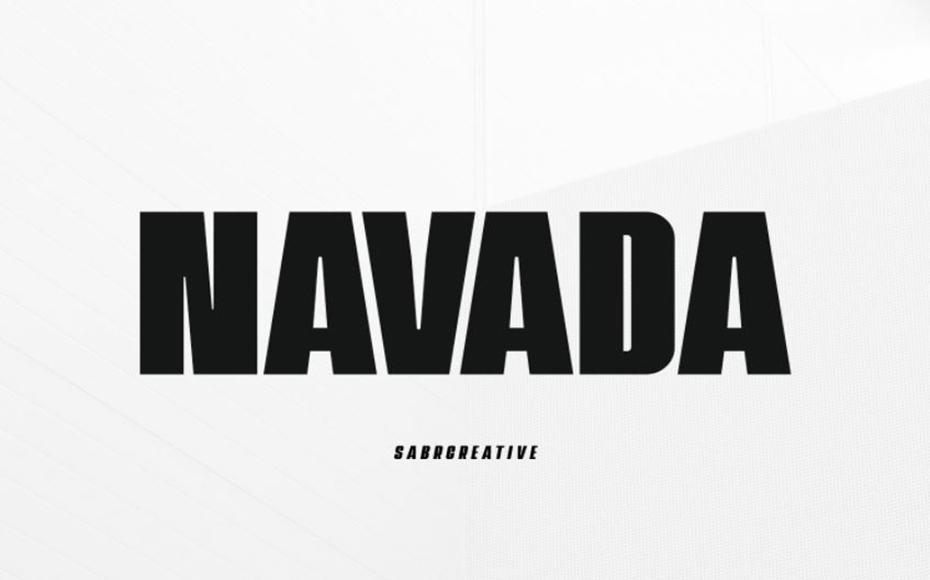 Navada Font Family Free Download