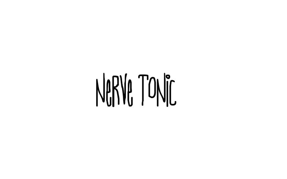 Nerve Tonic Font Family Free Download