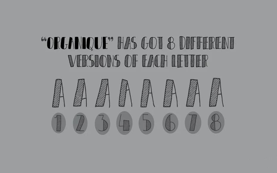 Organique Font Family Download