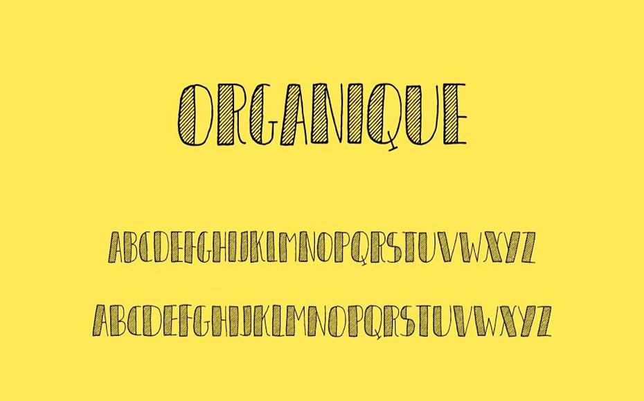 Organique Font Free Download