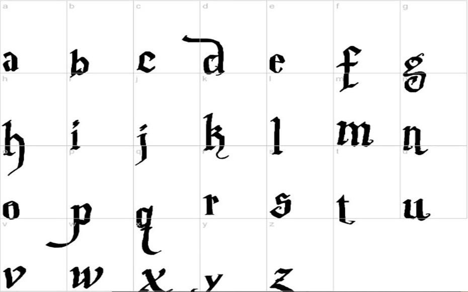 Parry Hotter Font Free Download