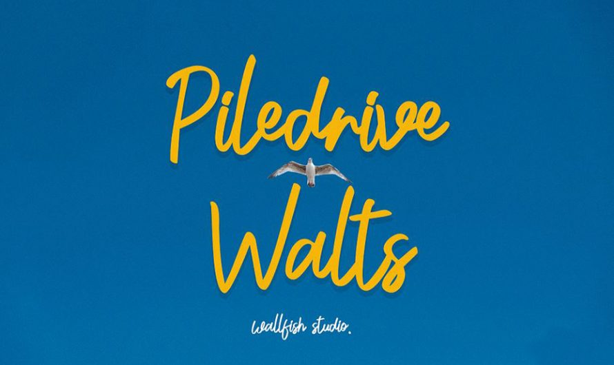 Piledrive Walts Font Free Download