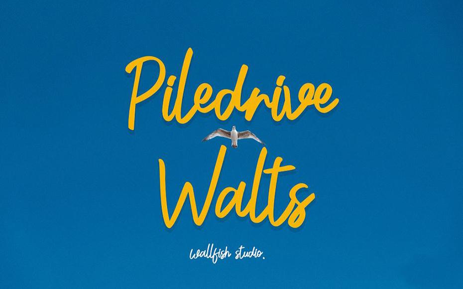 Piledrive Walts Font Family Free Download