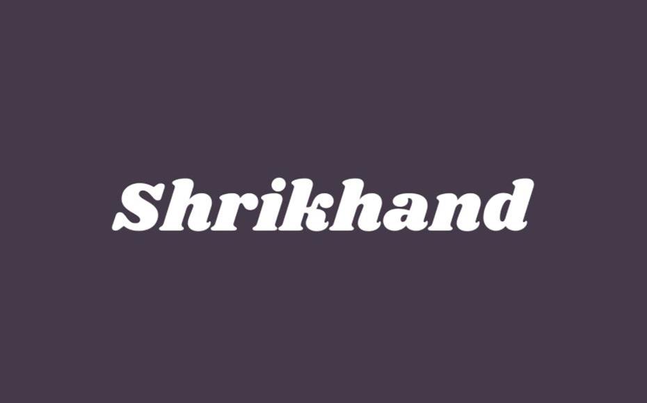 Shrikhand Font Family Free Download