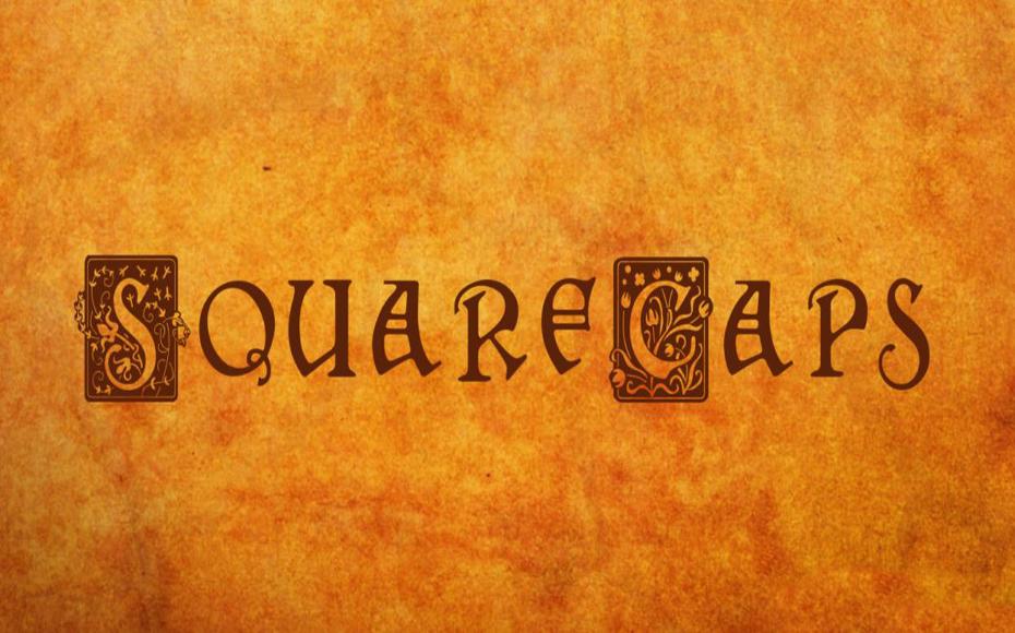 Squarecaps Font Family Free Download
