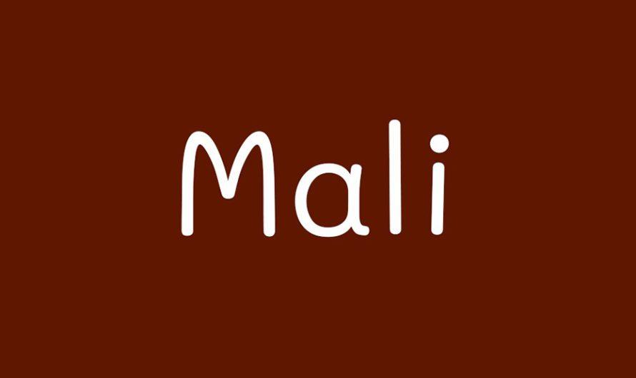 Mali Font Free Download