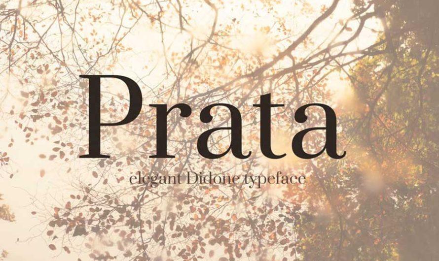 Prata Font Free Download