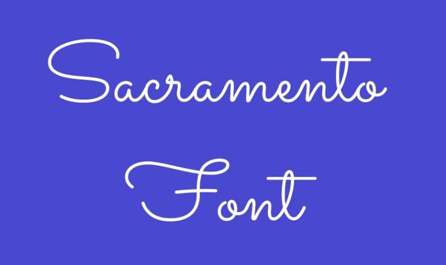 Sacramento Font Free Download