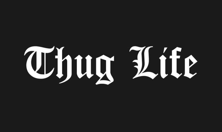 Thug Life Font Free Download